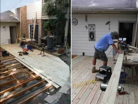 Backyard Wedding Dance Floor Project