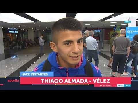 """Almada, El Héroe De Vélez: """"Fue Muy Lindo"""""""