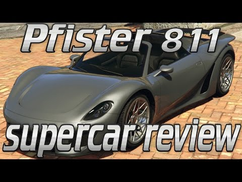 Pfister 811 supercar review - GTA online guides