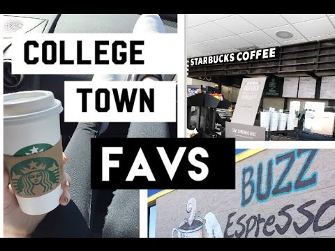 College Town Favs