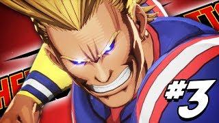 THE FINAL EXAM!! Midoriya & Bakugo VS ALL MIGHT?! | My Hero: One's Justice - PART 3