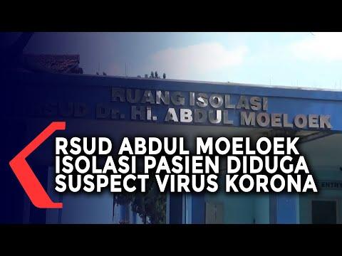 RSUD Abdul Moeloek Isolasi Satu Pasien Diduga Suspect Corona