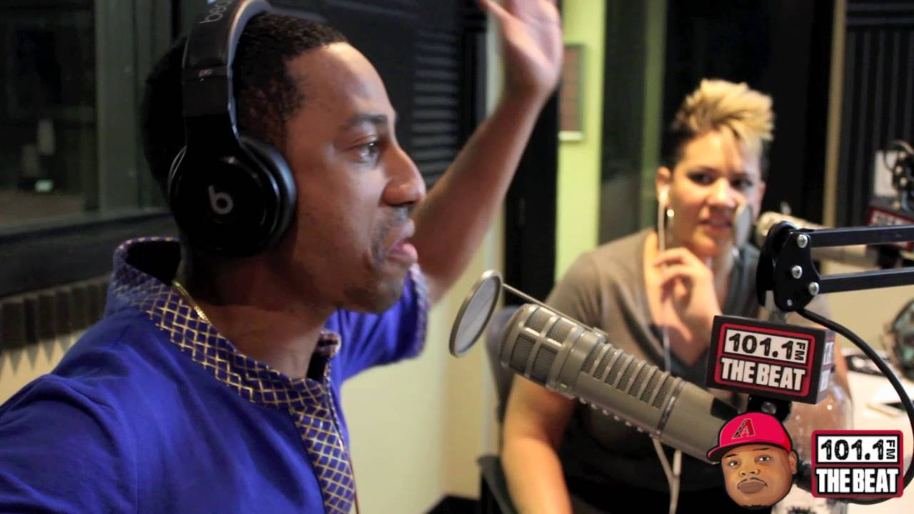 Brandon T Jackson working w/ Robert Downey Jr & mistaken for Ludacris [AZTheBeat]