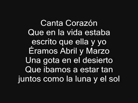 Canta Corazón   Alejandro Fernández   CON LETRA