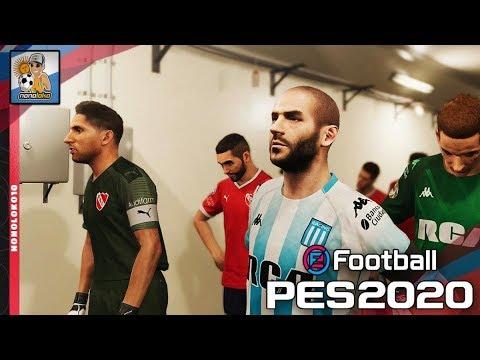 EFootball PES 2020 RACING CLUB Vs INDEPENDIENTE (Gameplay)
