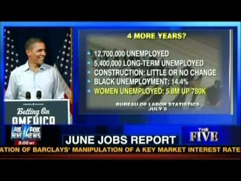 Obamas jobless recovery
