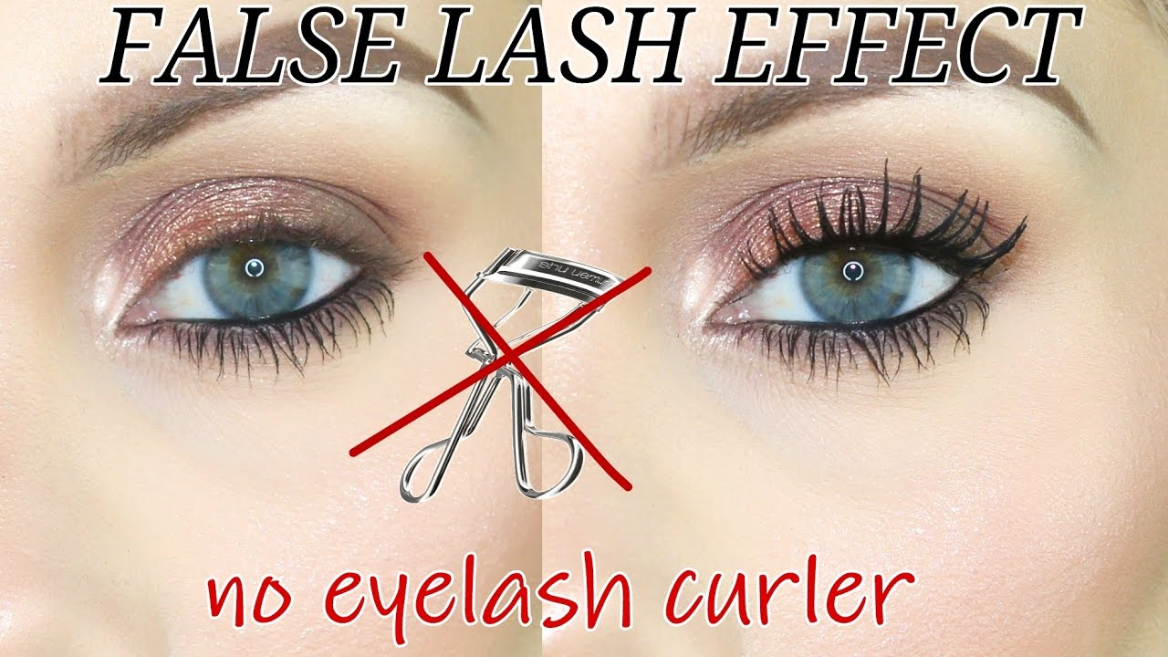 how to get curled eyelashes without curler