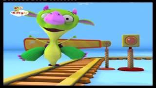 BABYTV - DRACO juega con una locomotora (español de España)