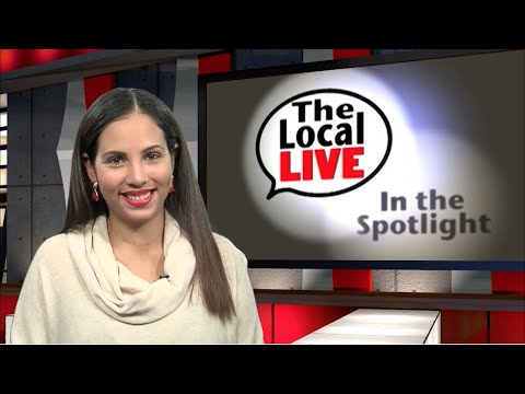 Alexandria Garcia co-anchors The Local Live Show