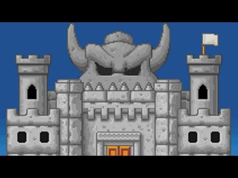 Super Mario Advance 4 - World 8 Final Castle