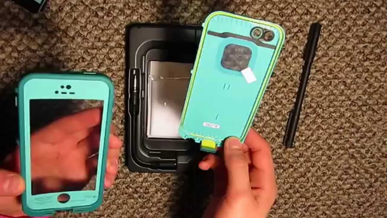 info for cb531 17057 iPhone 5s Teal Lifeproof Unboxing
