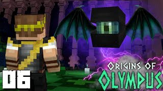 Origins of Olympus: THE ORACLE! (Percy Jackson Minecraft Roleplay SMP) thumbnail