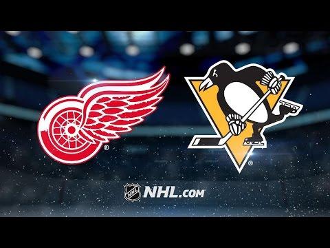 Mrazek, Ott lead Red Wings to 5-2 win over Penguins