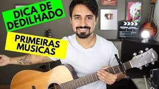 Baixar As primeiras músicas que aprendi + dica para tocar dedilhado (Tiago Contieri)