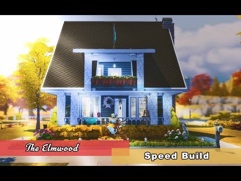 THE SIMS 4: Speed Build THE ELMWOOD