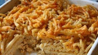 Macaroni Pie Recipe.
