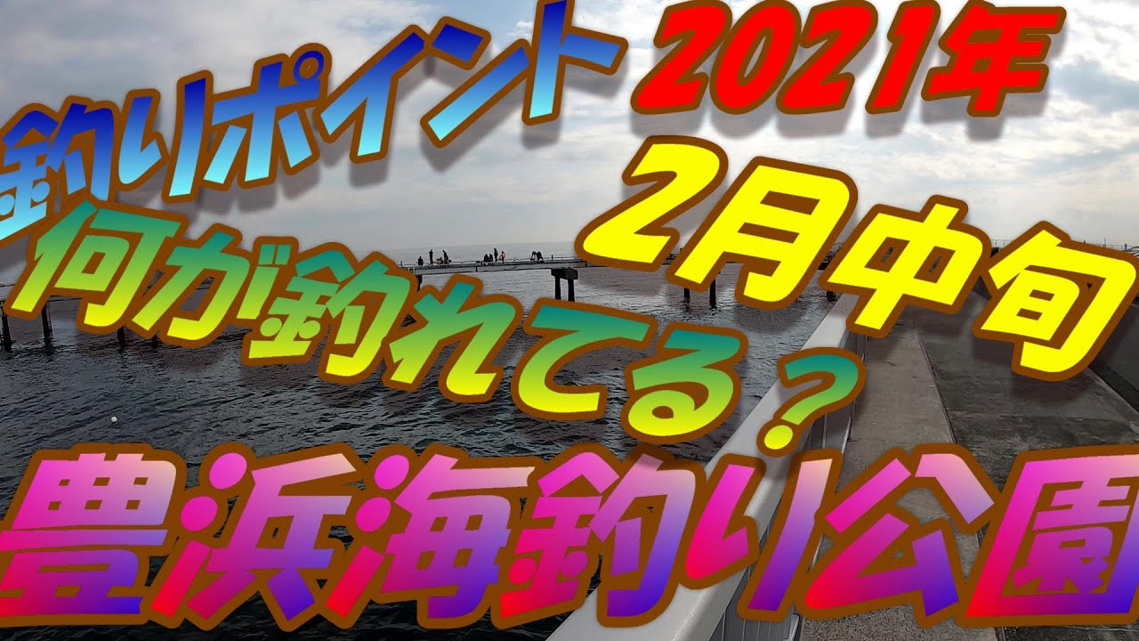 豊浜 海 釣り 公園 本牧海づり施設[横浜フィッシングピアーズ]