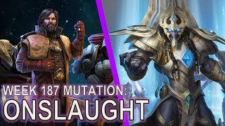 Starcraft II Future Mutation: Onslaught [Earth Splitting Top Bars]