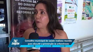 Jardênia Ferreira apontas o foco da reunião do Conselho Municipal de Saúde