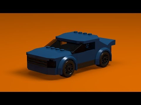 Simple Lego Sports Car Instructions Youtube