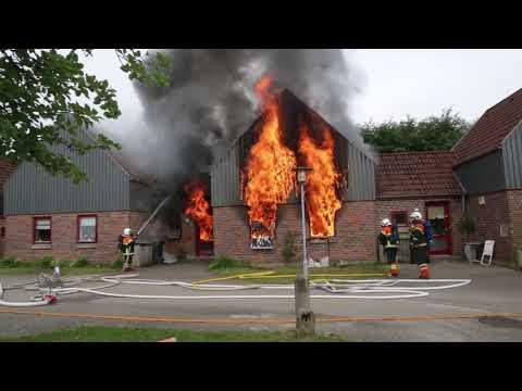 Brand i rækkehus, Prærien i Grindsted