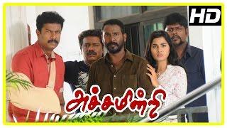 Achamindri Movie Climax   Saranya   Samuthirakani   Vijay Vasanth   Srushti