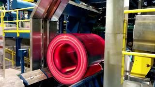 Itipack Full Otomatik Çelik Çemberleme Makinası Çelik Bobin Çemberleme Uygulaması