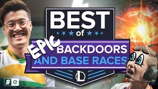 Most EPIC Backdoors and Base Races in League of Legends History