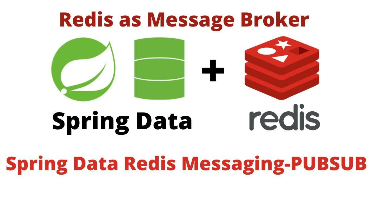 Spring Data with Redis Publisher and Subscriber Messaging example