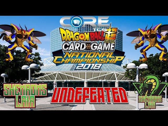 *DBS CARD GAME* CORE TCG LA REGIONAL WINNER!! UNDEFEATED?!?!?!
