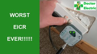 Dangerous Bad worst EICR reverse polarity DIY Dave rewire required dodgy RCD test fail high ZS