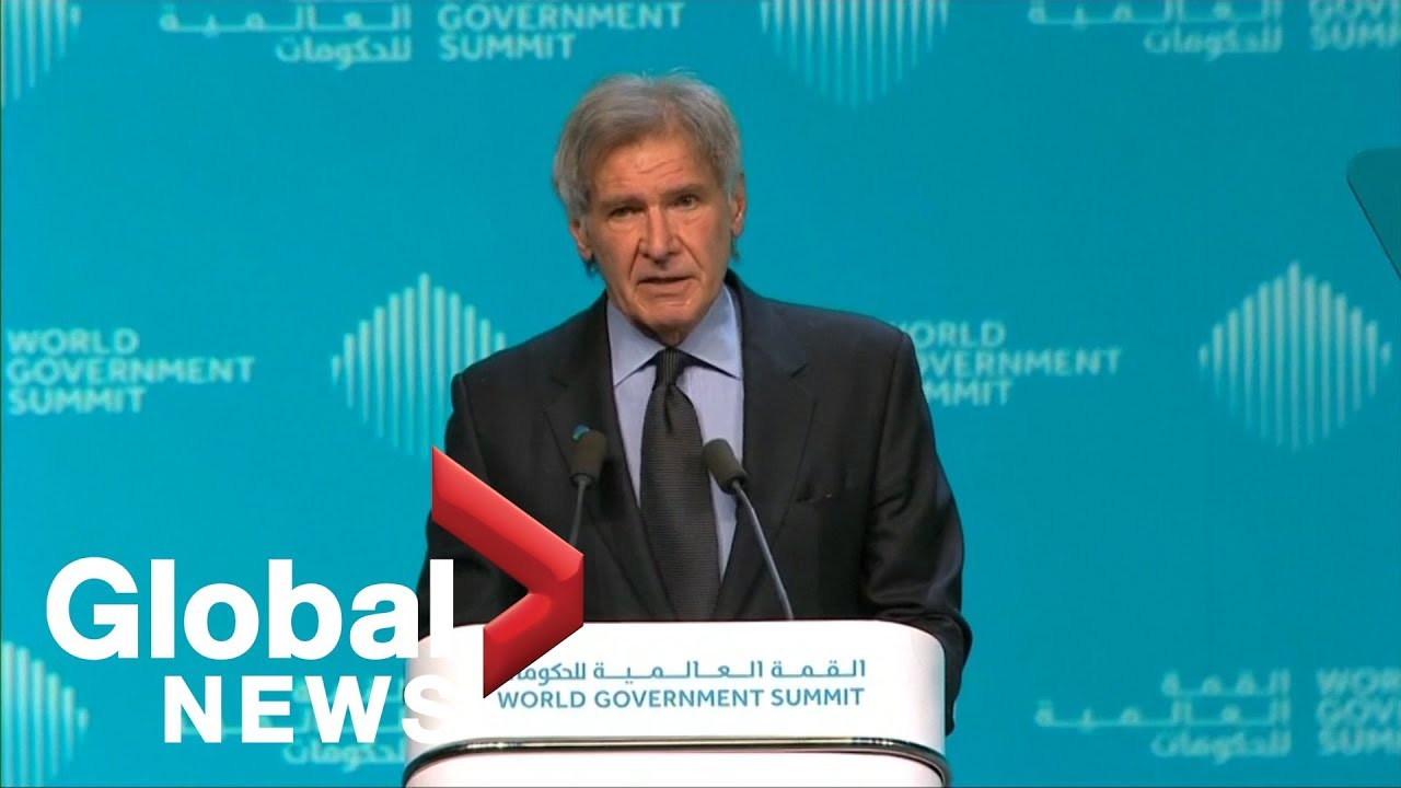 Image result for harrison ford at world government summit