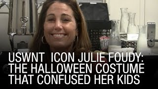 USWNT Icon Julie Foudy Explains The Halloween Costume That Confused Her Kids