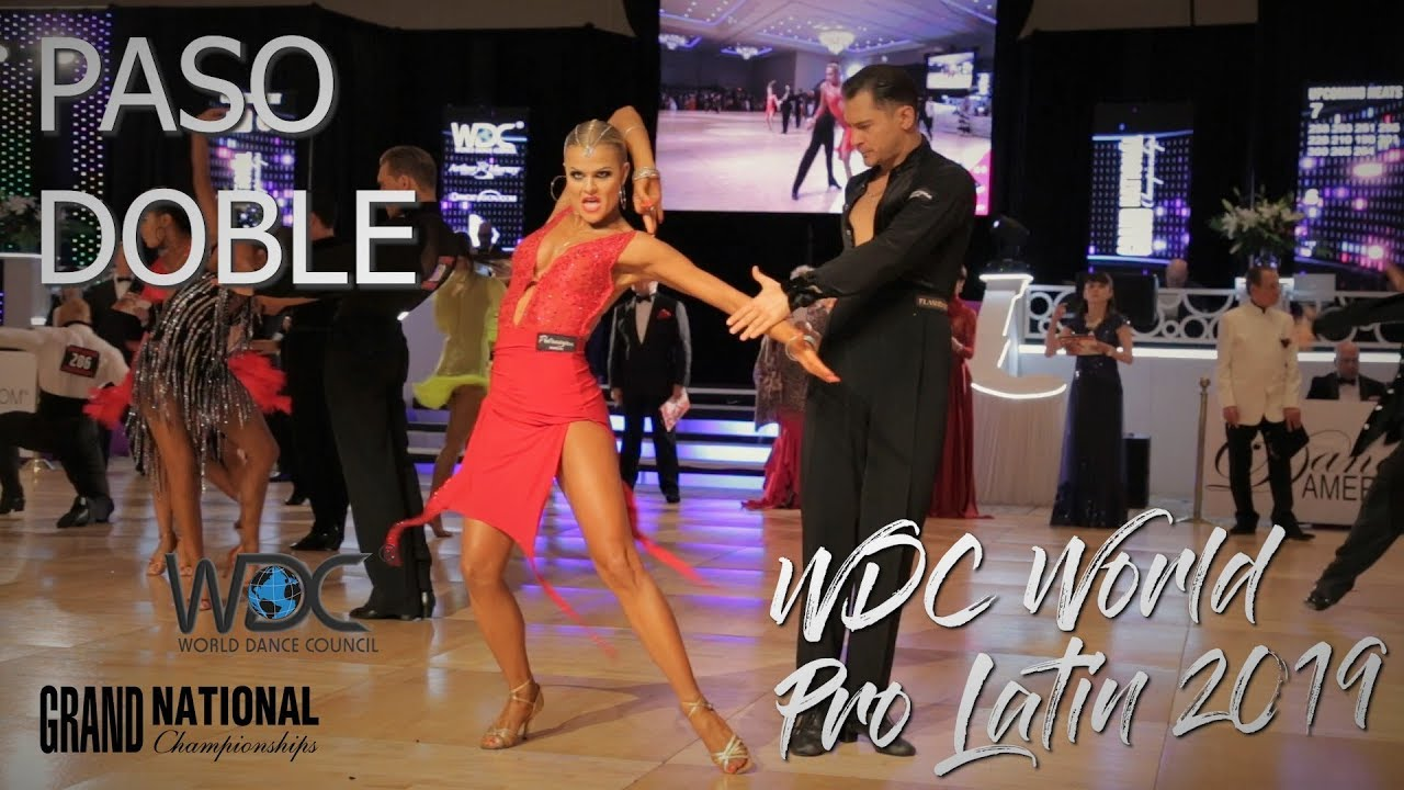 WDC World Professional Latin 2019 I Paso Doble I R1