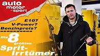 E10? V-Power? Benzinpreis? Die 8 größten Sprit-Irrtümer - Bloch erklärt #80 | auto motor und sport