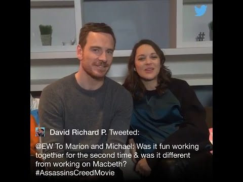 'Assassin's Creed' cast answers questions on EW twitter