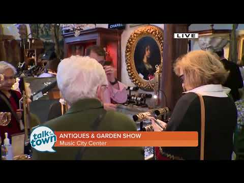 Have Fun Shopping for Antiques, See Garden Designs & More at a Favorite Nashville Event