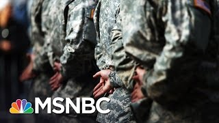 US Navy Seal Killed In Combat In Iraq | Andrea Mitchell | MSNBC