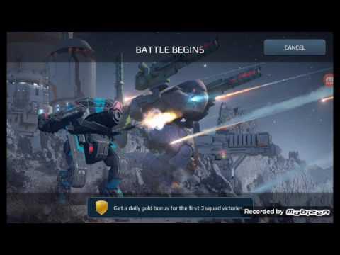 War Robots- Kerensky - close battle