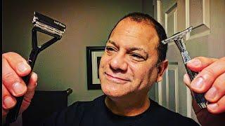 The TWIG single blade razor v. the LEAF hybrid multi-blade razor — average guy tested #APPROVED