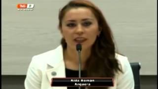 Aida Román ofrece disculpas por no dar entrevistas