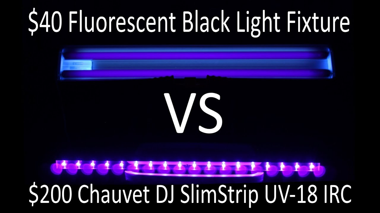 Research: Fluorescent vs. LED, PB
