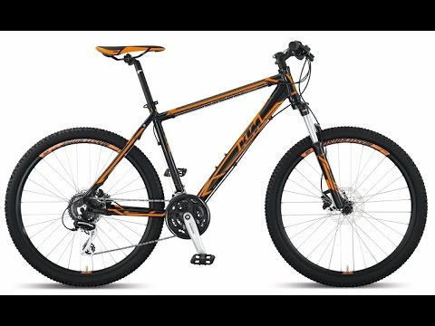 Watch on mountain bike