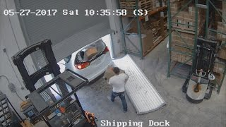 What Happens In Vegas: Watch Condom Crooks Steal 30,000 Rubbers From Warehouse