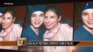 """Caio Blat retoma contato com filho após 12 anos: """"Importante para a vida"""""""
