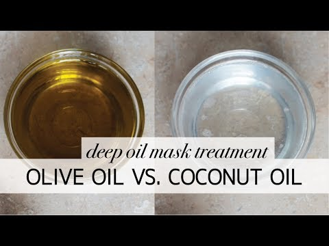 Olive oil vs. Coconut oil | 4c natural hair