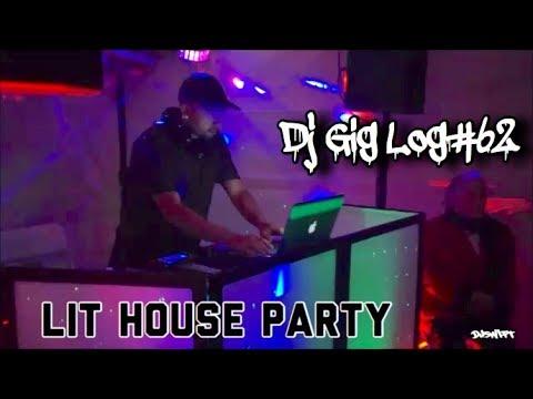 "DJ GIG LOG#62 ""LIT HOUSE PARTY"" BIRTHDAY SETUP TIME LAPSE  PARAMOUNT CA"