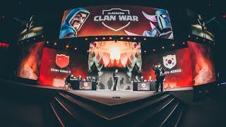 Clan War Quarterfinal: Glory China II vs. 대한민국•KOREA