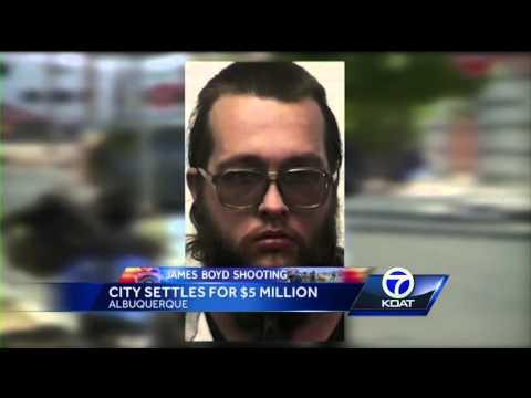 James Boyd shooting: City settles for $5 million