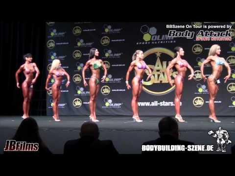 DBFV Int. Deutsche Meisterschaft 2011 Finale Frauen Fitness Figur